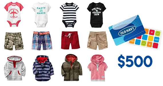 Win a $500 Old Navy Gift Card