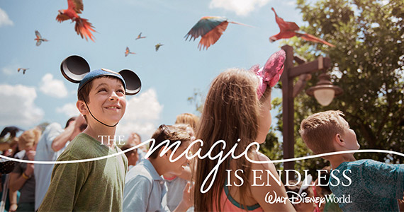 Win a Disney Trip For 4 and Disney Gift Cards