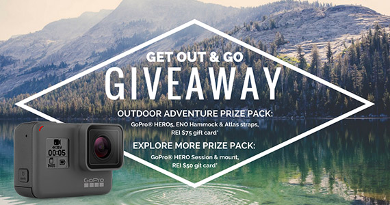 Win a GoPro, Eno Hammock and More