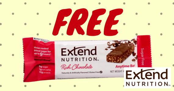 Free Extend Gluten-Free Nutrition Bar