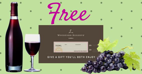 Free Custom Woodford Reserve Bourbon Label