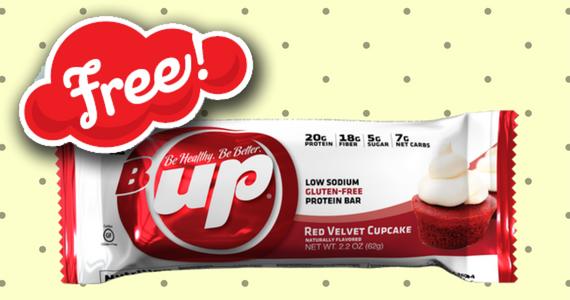 Free Red Velvet Cupcake B-Up Bar