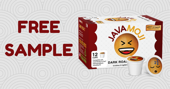 Free JavaMoji Coffee K-Cup Sample Pack
