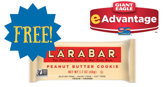 Free Larabar From Giant Eagle