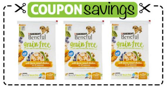 Save $3 on Beneful Grain Free Dry Dog Food