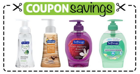Save 75¢ off Softsoap Hand Soap