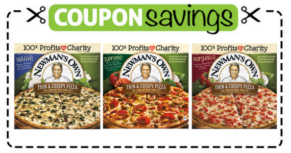 Save $1 off Newman's Own Thin & Crispy Pizza