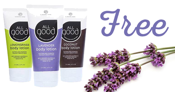 Free ALL good Body Lotion Sample