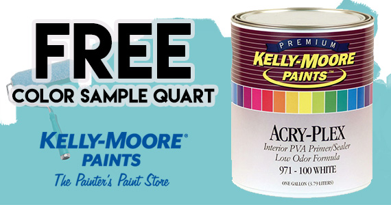 Free Quart-Size Color Paint Sample
