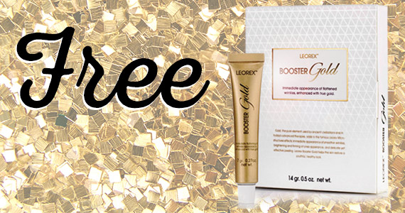 Free LEOREX Booster Gold Skincare Sample