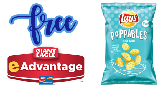 Free Lay's Poppables From Giant Eagle