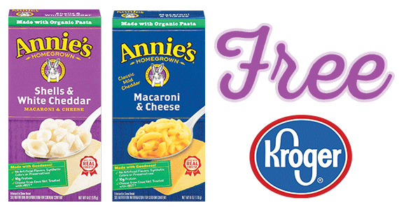 Kroger Friday Freebie – Free Annie's Macaroni and Cheese