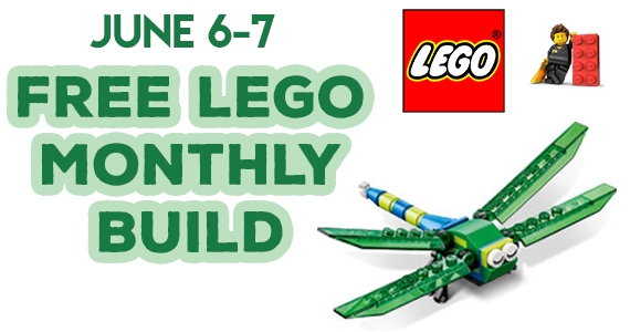 Free LEGO Mini Model Build Event – Dragonfly