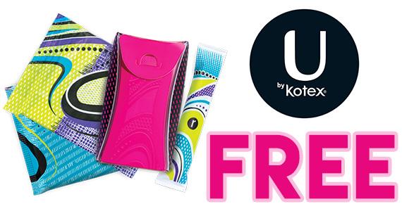 Free U by Kotex Fitness Sample Packs