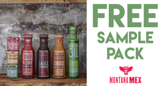 Free Montana Mex Seasonings Sample Pack