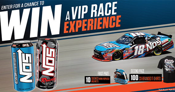 Win a Free Nissan Car from Nos