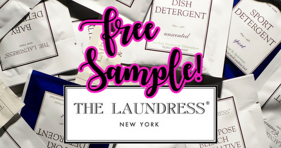 Free Sample of The Laundress Laundry Detergent