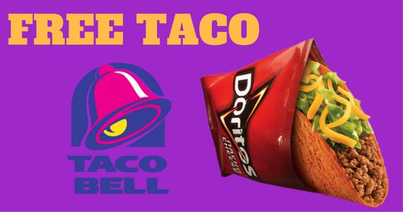 Free Doritos Locos Taco From Taco Bell