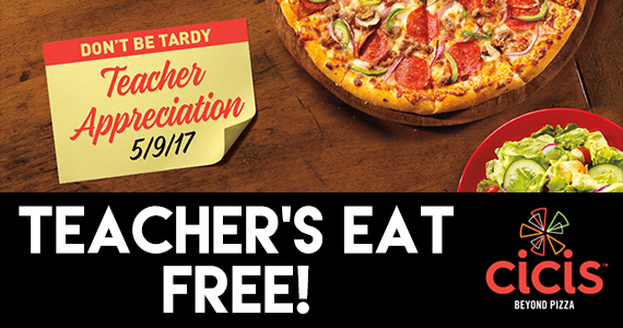 Free Adult Buffet For Teachers