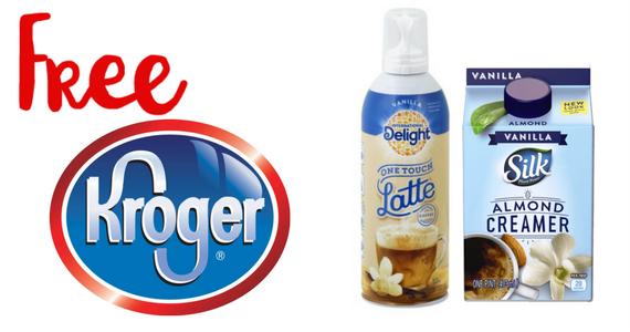 Kroger Friday Freebie – International Delight One Touch Latte or Silk Almond Coffee Creamer