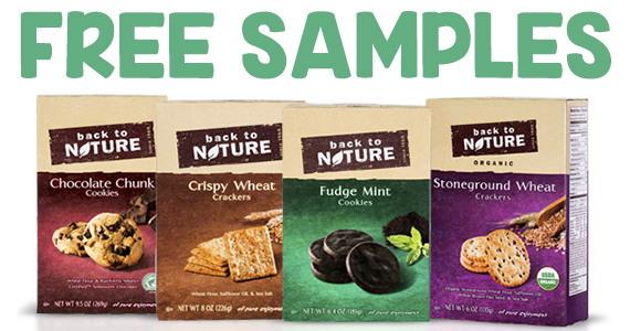 Free Box of Back To Nature Crackers or Cookies