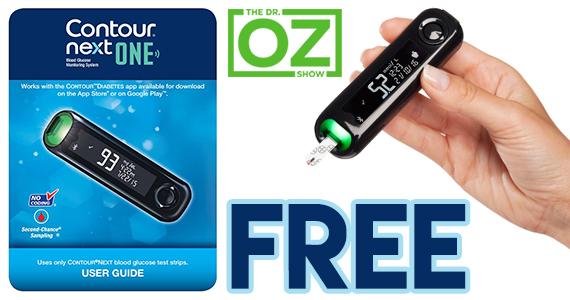 Free Contour Next One Blood Glucose Meter & Starter Kit