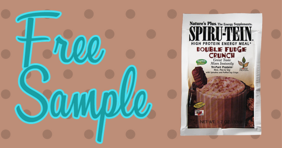 Free Double Fudge Crunch SPIRU-TEIN Shake