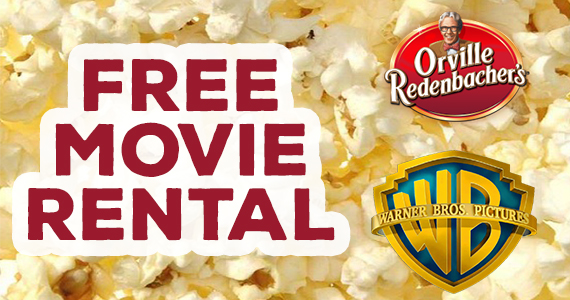 Free Movie Rental From Orville Redenbacher's