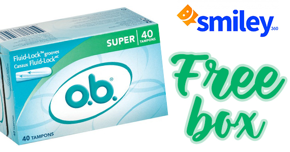 Free o.b. Tampons & Product Coupon