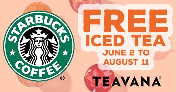 Free Tea From Teavana on May 26th