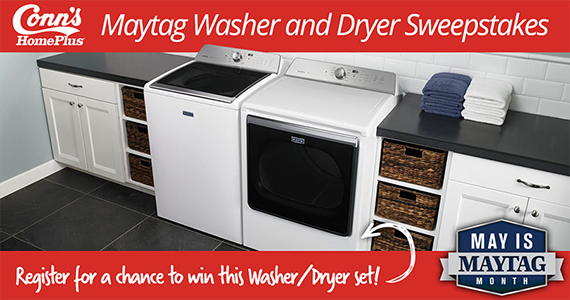 Win a Maytag Washer and Dryer Set