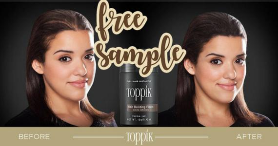 Free Sample of Toppik Hair Building Fibers