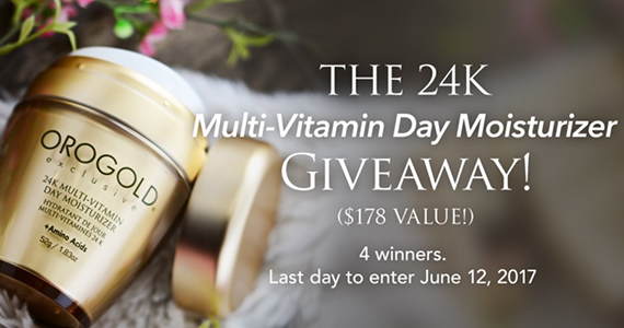 Win a Multi-Vitamin Day Moisturizer