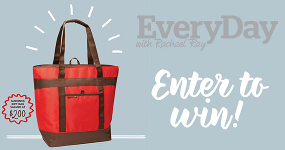 Win a Rachael Ray Audience Swag Bag
