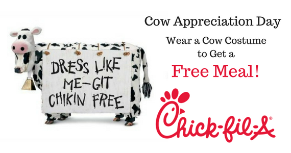 Free Entrée at Chick Fil A on July 11th