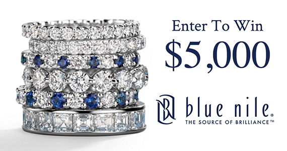 Win a $5,000 Blue Nile Shopping Spree