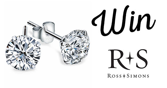 Win a Pair of 2 Carat Diamond Studs