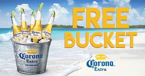 Free Corona Bucket – Select States