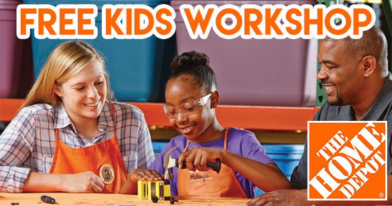 Build A Penske Truck – Kid's Clinic at Home Depot