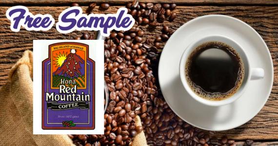 Free Kona Red Mountain Coffee Sample