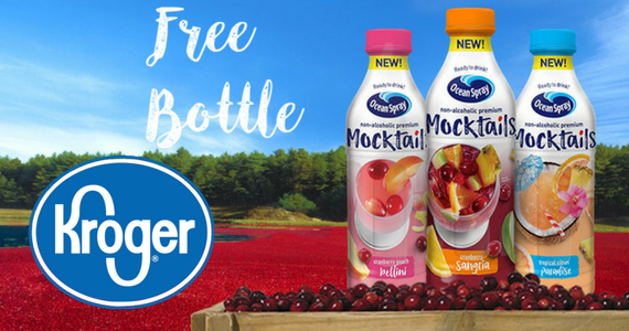 Kroger Friday Freebie – Ocean Spray Mocktails Juice Drink