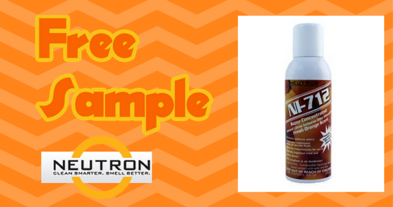 Free Sample of Neutron NI-712 Odor Eliminator