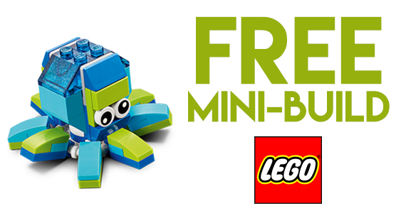 Free LEGO Mini Model Build Event – Octopus