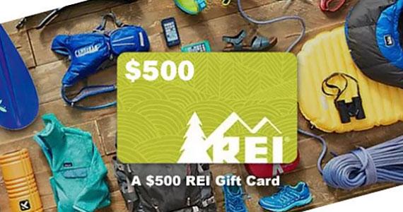 Win a $500 REI Gift Card