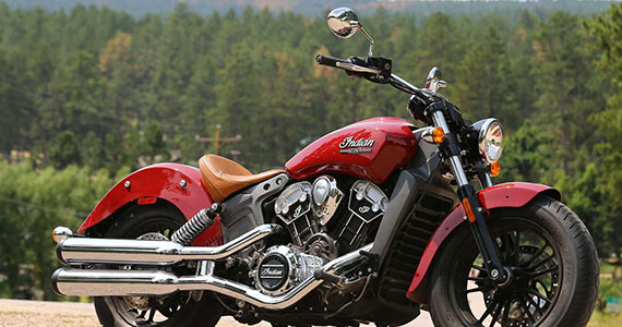 Win a 2016 Indian Scout Motorcycle