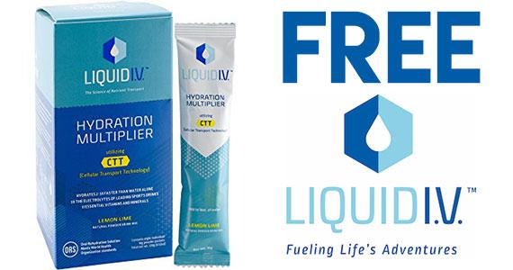 Free Liquid I.V. Sample