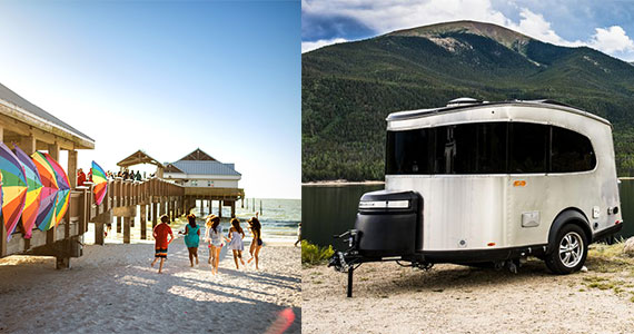Win a Airstream Basecamp RV