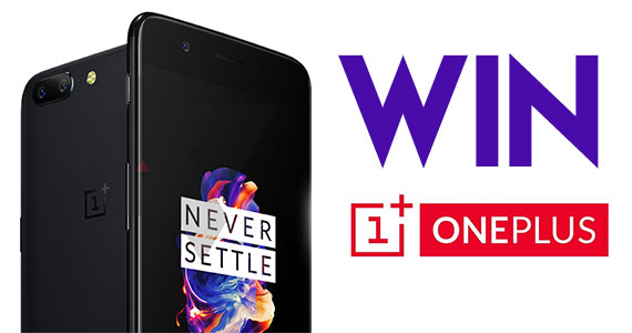 Win a OnePlus 5 Smartphone from Android Headlines