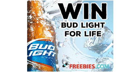 Win Bud Light for Life!