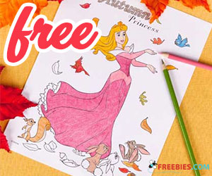 Free Printable Autumn Coloring Page